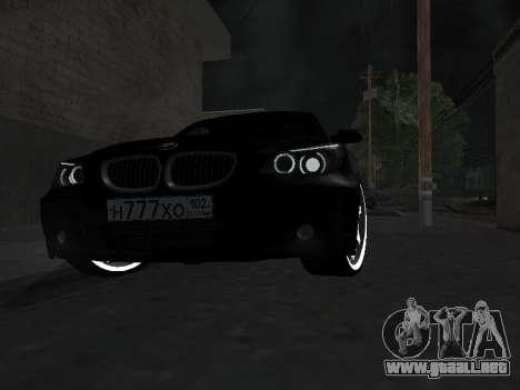 BMW 525i (e60) para visión interna GTA San Andreas
