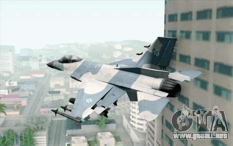 F-16 Osean Air Defense Force para GTA San Andreas left