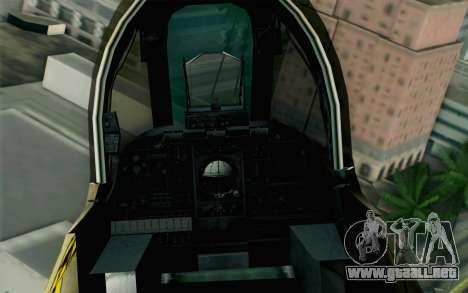A-10 Desert Camo para la visión correcta GTA San Andreas