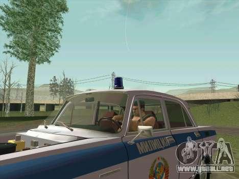Moskvich 2140 Policía para el motor de GTA San Andreas
