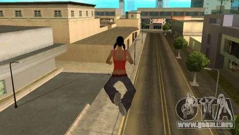 Cleo Fly para GTA San Andreas segunda pantalla