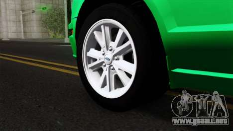 Ford Mustang GT Wheels 2 para GTA San Andreas vista posterior izquierda