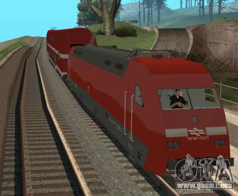 Israeli Train para GTA San Andreas left