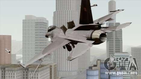 F-16C Block 52 para GTA San Andreas left