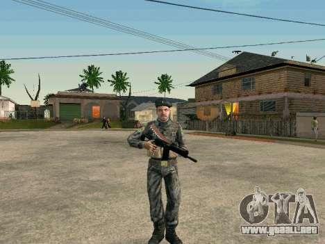 Cine de las fuerzas especiales de la URSS para GTA San Andreas sucesivamente de pantalla