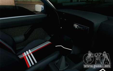 Volkswagen Golf Mk3 Eurolook para la visión correcta GTA San Andreas