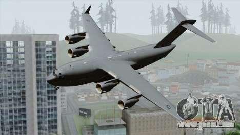 C-17A Globemaster III RAF para GTA San Andreas