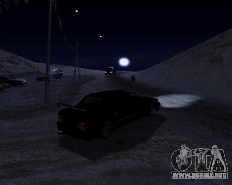 LineFlex ENBseries para GTA San Andreas quinta pantalla