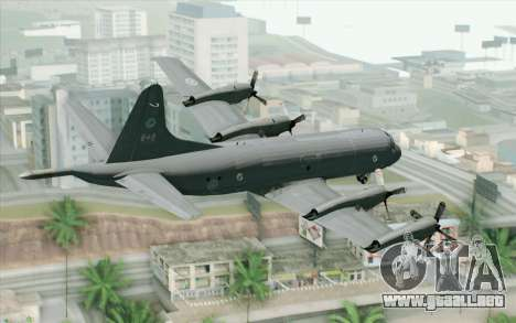 Lockheed P-3 Orion RCAF para GTA San Andreas left