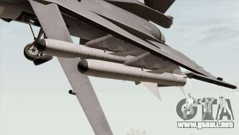 F-16C Block 52 para la visión correcta GTA San Andreas