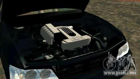 Nissan Laurel GC35 Kouki para la visión correcta GTA San Andreas