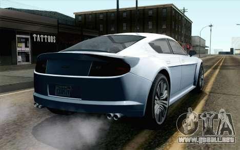 GTA 5 Dewbauchee Exemplar IVF para GTA San Andreas left