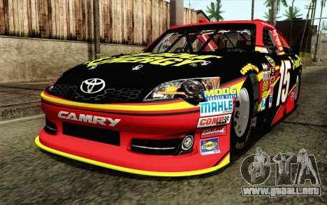 NASCAR Toyota Camry 2012 Short Track para GTA San Andreas