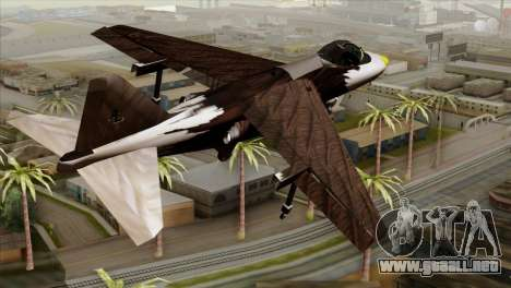 Hydra Eagle para GTA San Andreas left