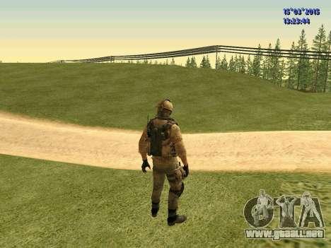 La policía de la milicia de Donbass para GTA San Andreas tercera pantalla