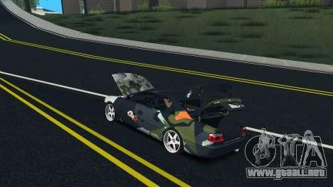 Toyota Chaser Tourer V Fail Crew para visión interna GTA San Andreas
