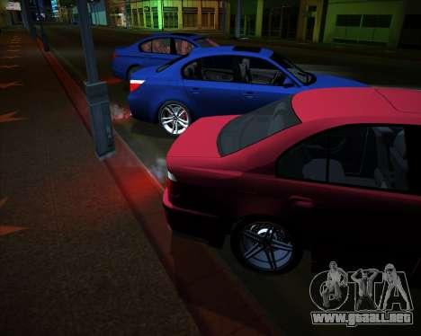 BMW 5-series E39 Vossen para visión interna GTA San Andreas
