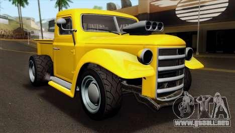 GTA 5 Bravado Rat-Truck para GTA San Andreas