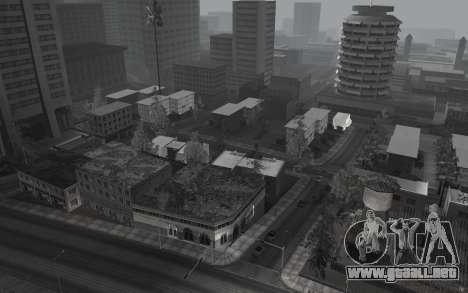En blanco y negro ColorMod para GTA San Andreas tercera pantalla
