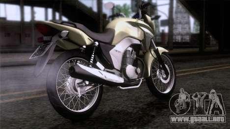 Honda CG Titan 150 2014 para GTA San Andreas left