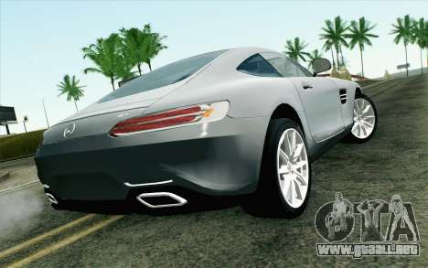 Mercedes-Benz AMG GT 2015 para GTA San Andreas left