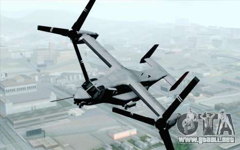 MV-22 Osprey VMM-265 Dragons para GTA San Andreas