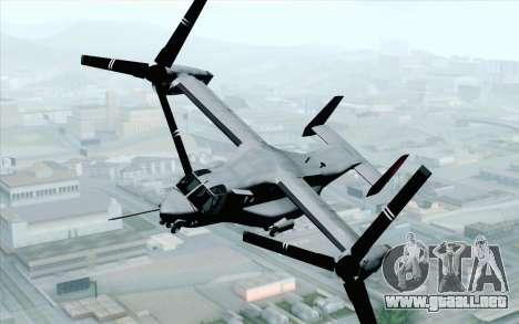 MV-22 Osprey VMM-265 Dragons para GTA San Andreas