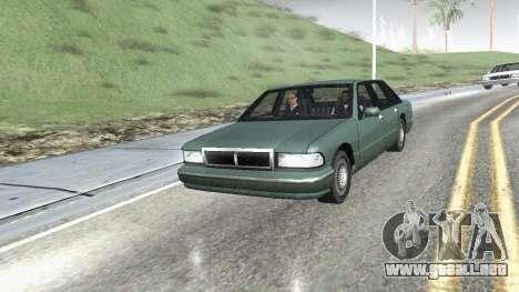 Carretera Reflexiones Fix 1.0 для GTA San Andrea para GTA San Andreas tercera pantalla