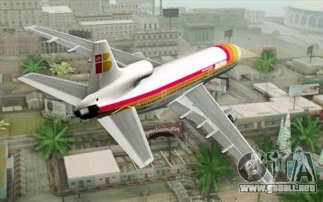 Lookheed L-1011 Iberia para GTA San Andreas left
