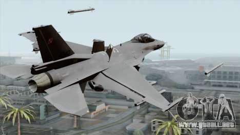 F-16C Block 52 PJ para GTA San Andreas left