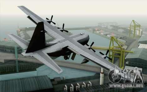C-130H Hercules USAF para GTA San Andreas left
