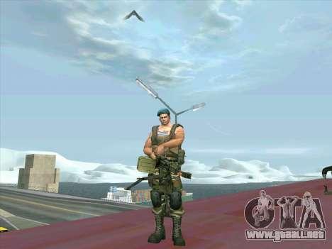 Depósito de armas de la Médula para GTA San Andreas segunda pantalla