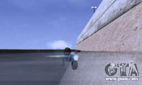 ENB Series EvoGraphics v 1.0 para GTA San Andreas quinta pantalla