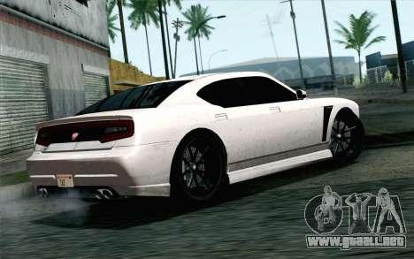 GTA 5 Bravado Buffalo S v2 IVF para GTA San Andreas left