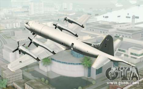 Lockheed P-3 Orion German Navy para GTA San Andreas left