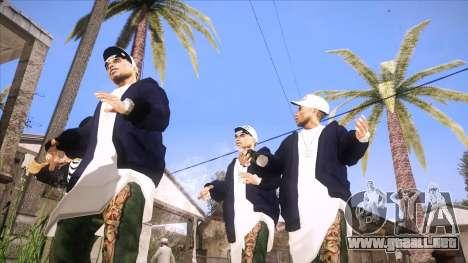 ENB Sunreal para GTA San Andreas tercera pantalla