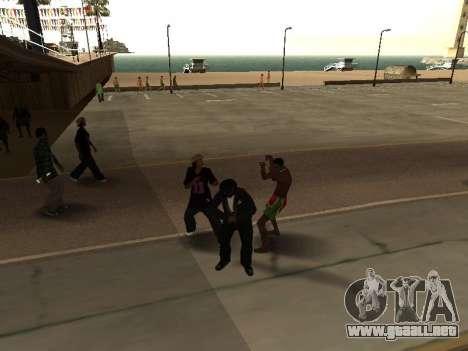 CLEO abusado de mí mismo para GTA San Andreas tercera pantalla