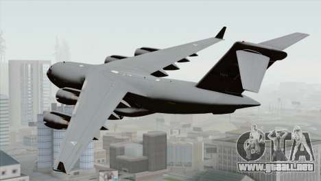 C-17A Globemaster III NATO para GTA San Andreas left