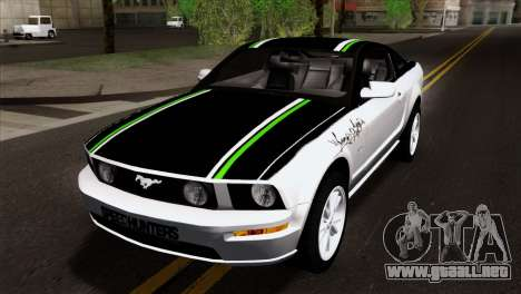 Ford Mustang GT Wheels 2 para visión interna GTA San Andreas