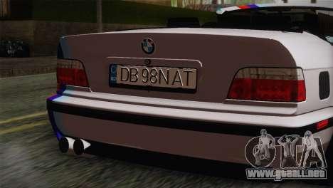 BMW E36 M3 Cabrio para GTA San Andreas