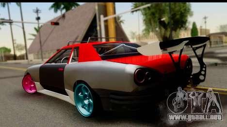 Drift Elegy Edition para GTA San Andreas left