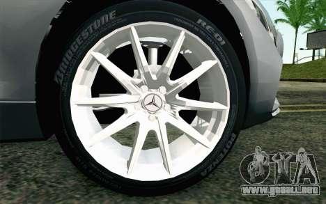 Mercedes-Benz AMG GT 2015 para GTA San Andreas vista posterior izquierda