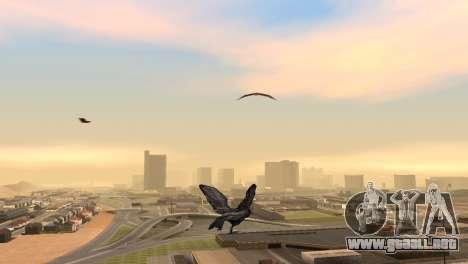La posibilidad de GTA V para jugar a los pájaros para GTA San Andreas segunda pantalla