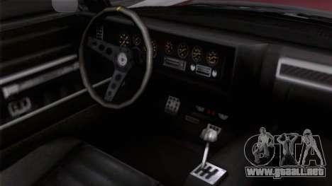 GTA 5 Invetero Coquette Classic TL para la visión correcta GTA San Andreas
