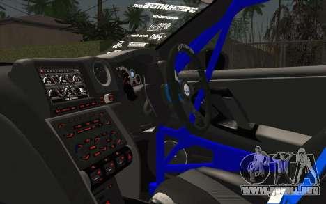 Nissan GT-R 2014 RocketBunny para la visión correcta GTA San Andreas