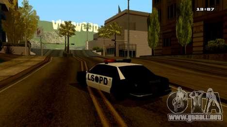 ColorMod by PhenomX3M v.3 para GTA San Andreas quinta pantalla