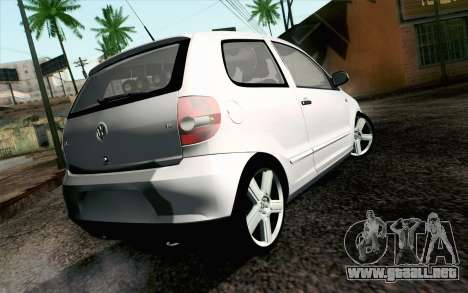 Volkswagen Fox para GTA San Andreas left