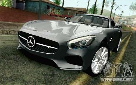 Mercedes-Benz AMG GT 2015 para GTA San Andreas