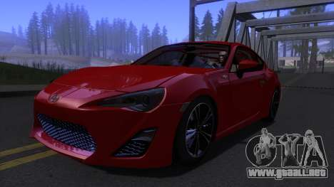 Scion FR-S 2013 Stock v2.0 para GTA San Andreas