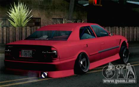 Toyota Chaser para GTA San Andreas left